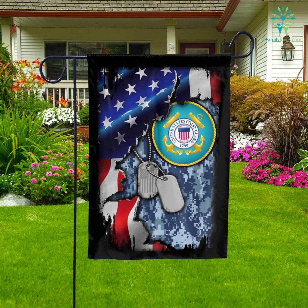 United States Coast Guard Garden Flag Familyloves.com