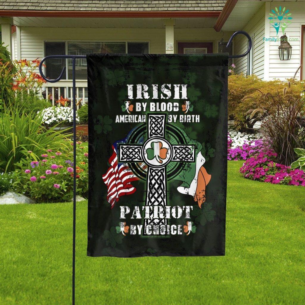 Irish Patriot Garden Flag  Garden Flag- Nichefamily.com