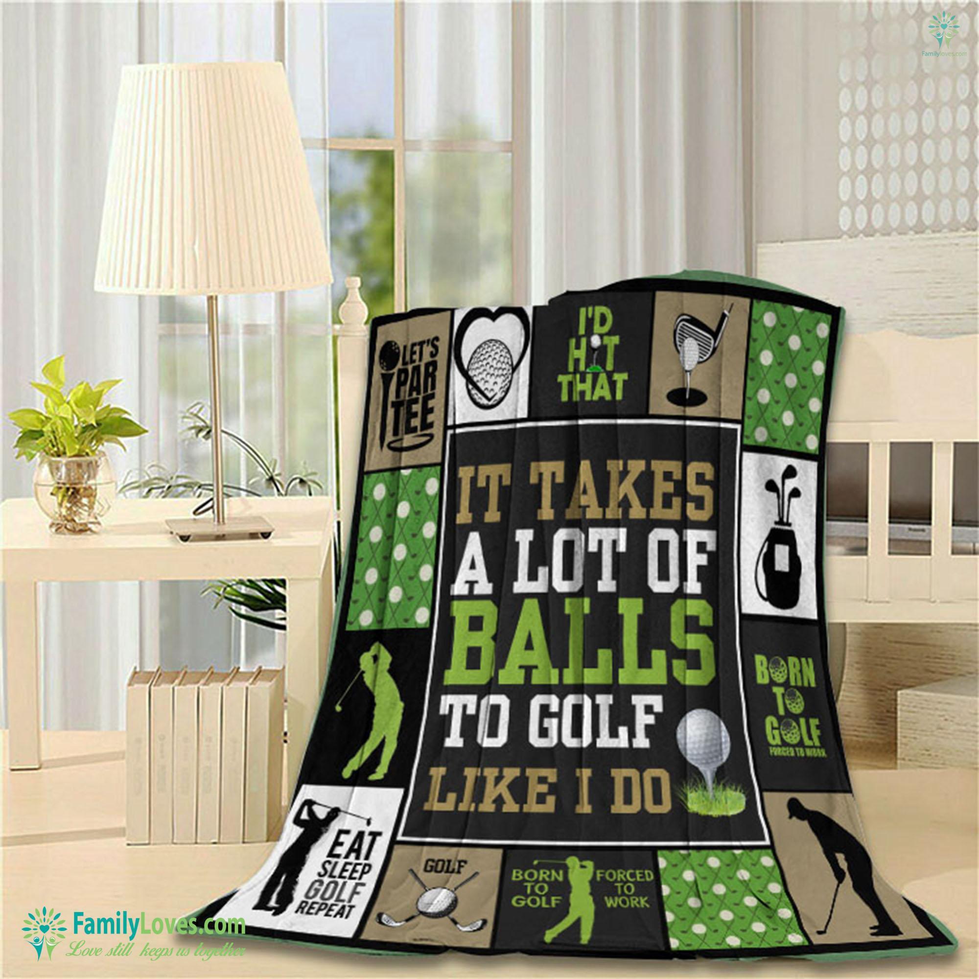 Golf Blanket 2 Familyloves.com