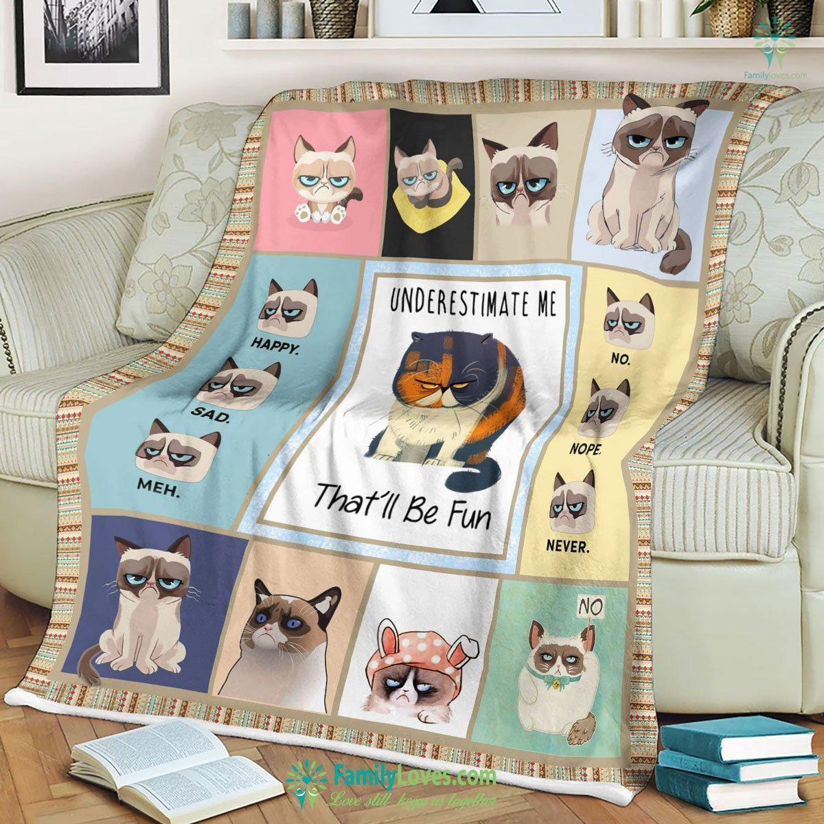 Grumpy Cat Th Blanket 14 Familyloves.com