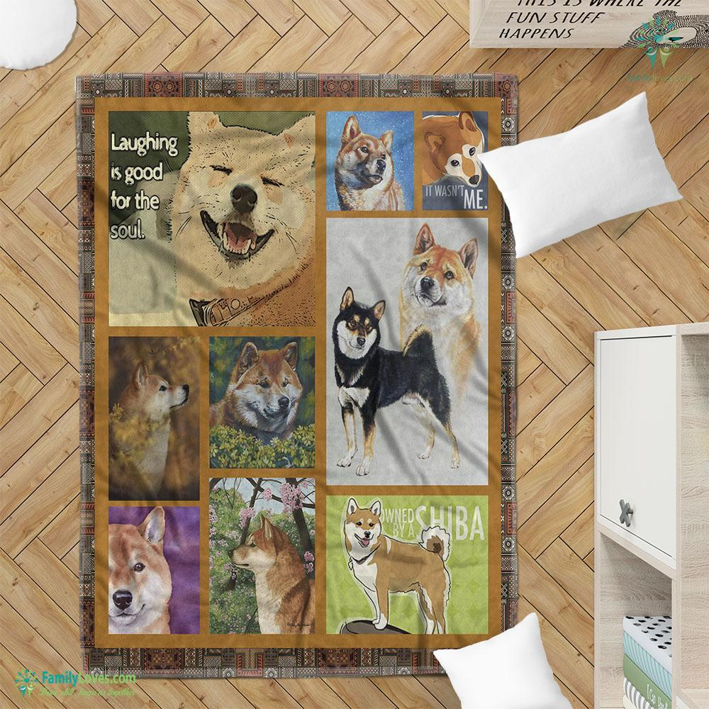 Laughing Is Good For The Soul Blanket 20 Familyloves.com