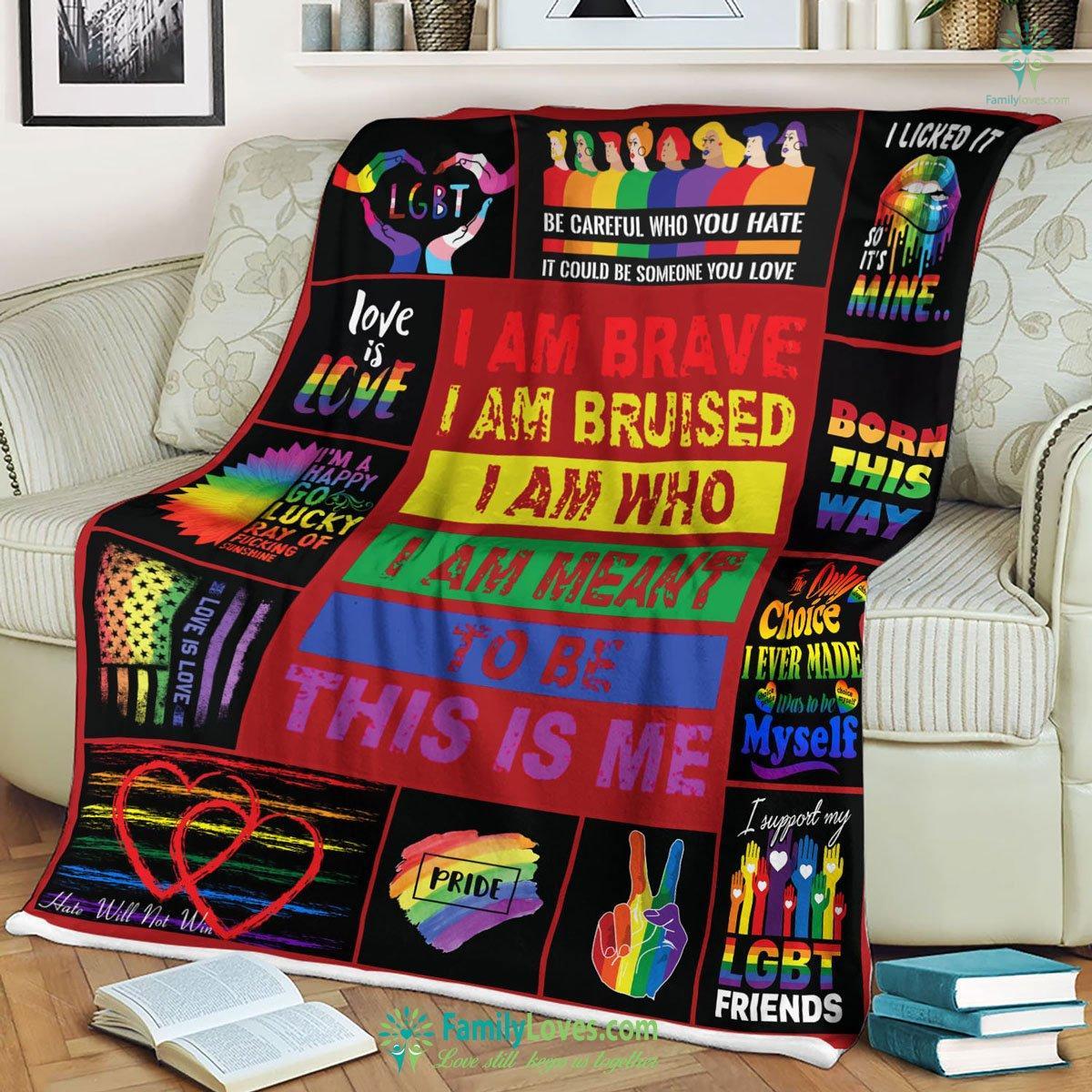 Lgbt Blanket 3 Familyloves.com