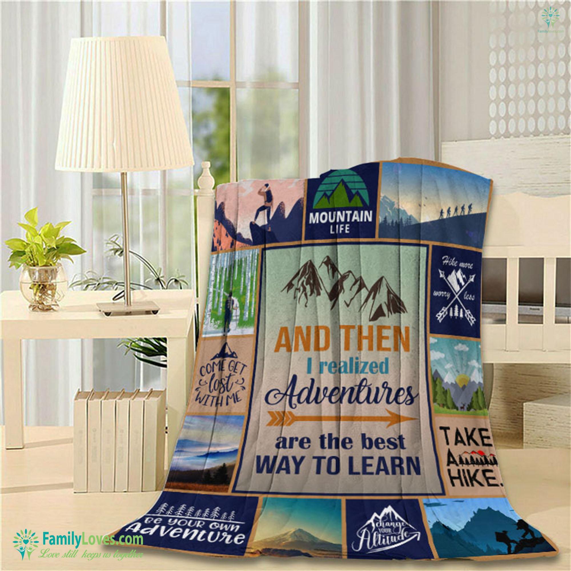 Limited Edition Hiking M Blanket 14 Familyloves.com