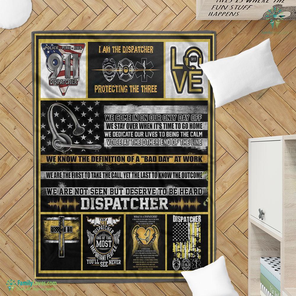 Limited Edition Dispatchers M Blanket 7 Familyloves.com