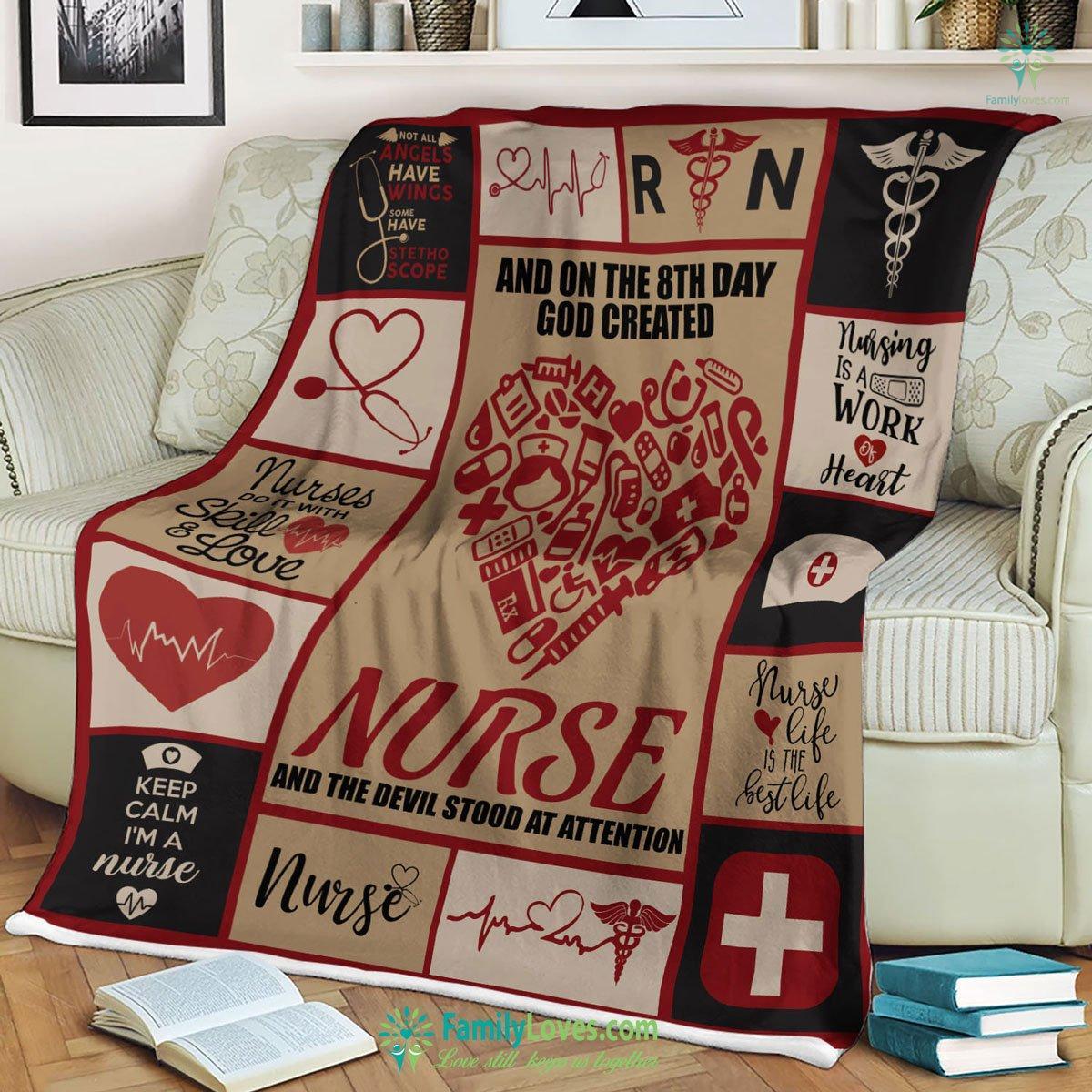 Limited Edition Nurse M 2 Blanket 11 Familyloves.com