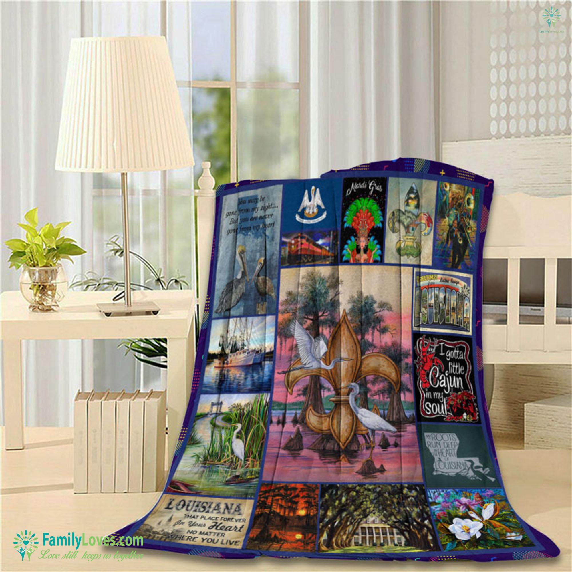 Louisiana Blanket 22 Familyloves.com