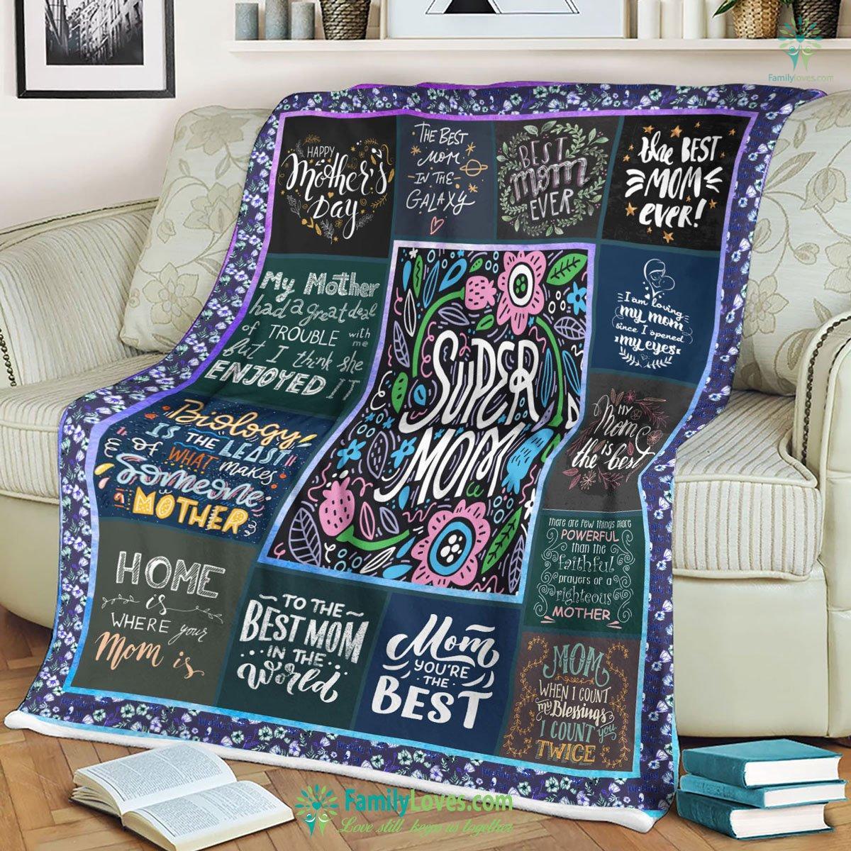 Mom Tvh Blanket 12 Familyloves.com