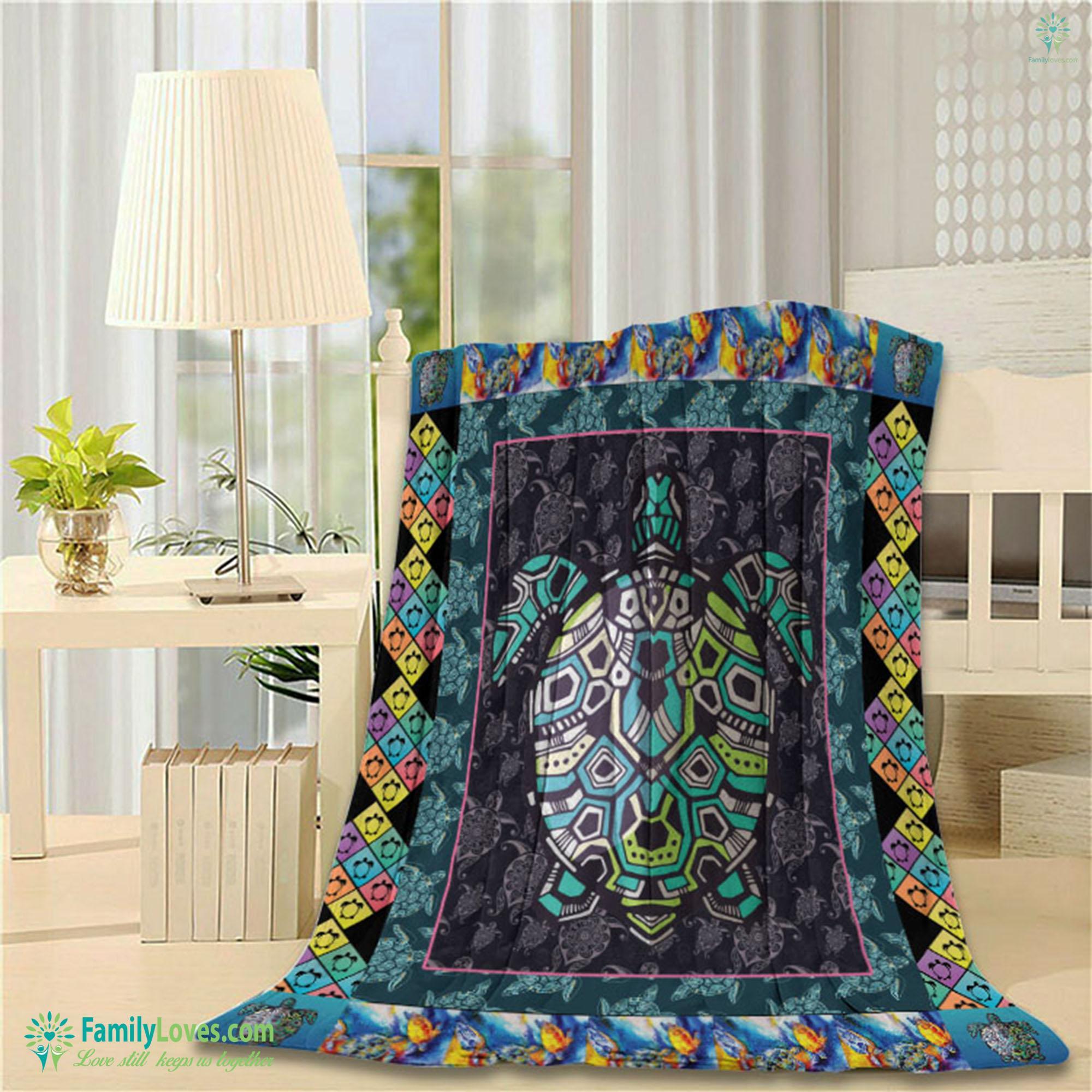 Turtle Blanket 19 Familyloves.com