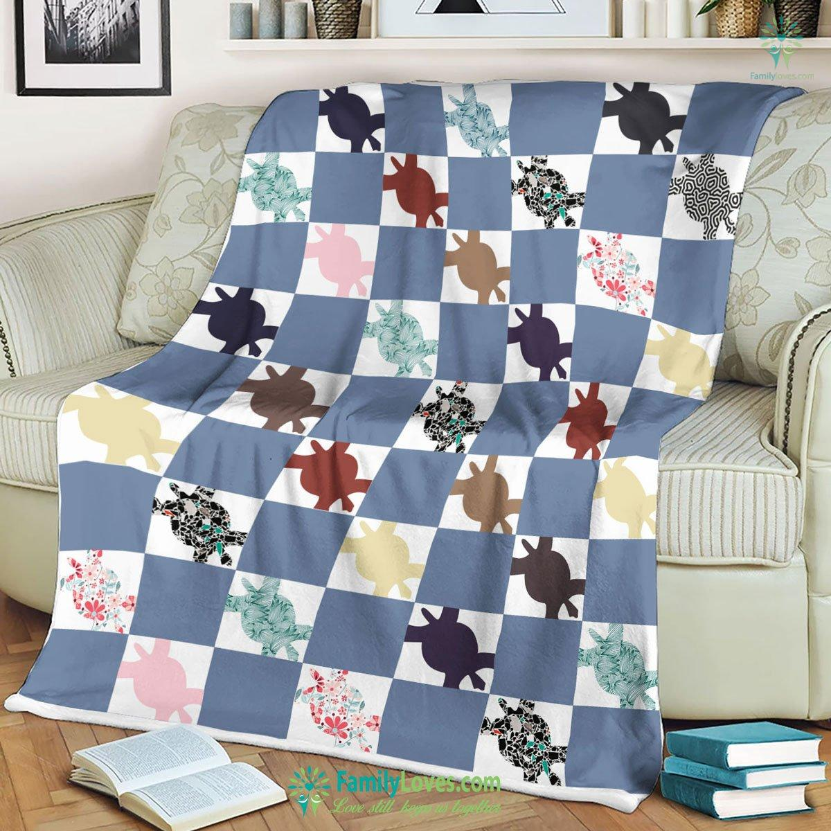 Turtle Blanket 18 Familyloves.com