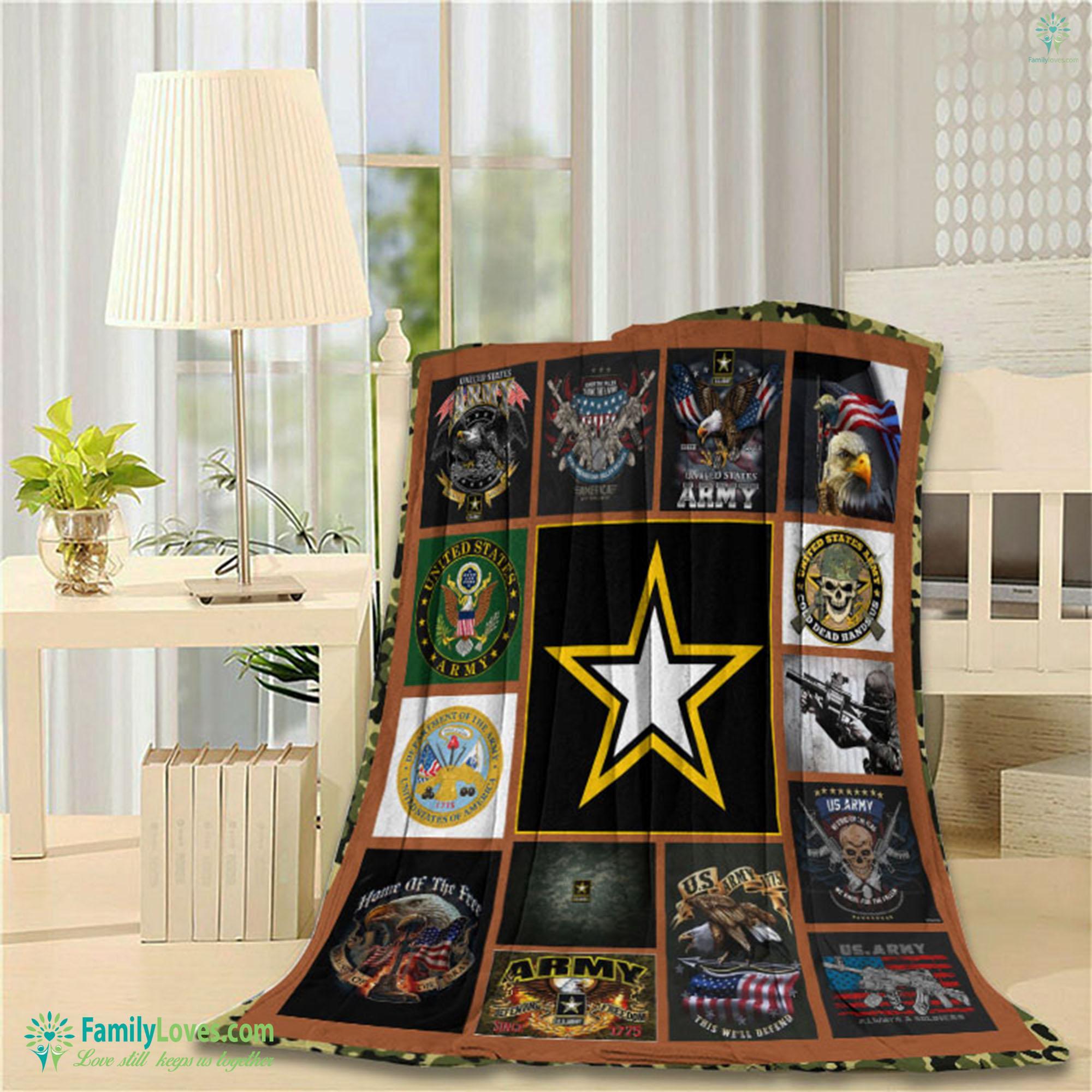 United States Army Blanket 12 Familyloves.com