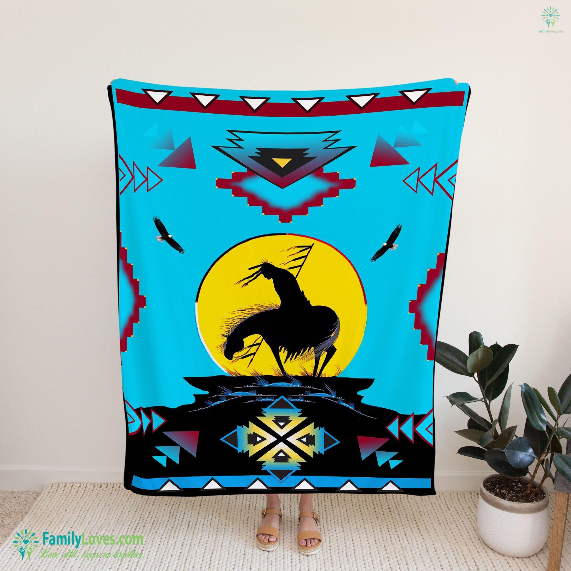 Warrior Blanket 9 Familyloves.com
