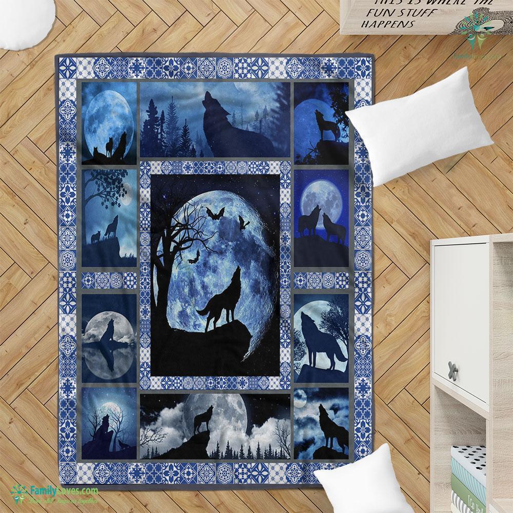 Wolf Qtpa Blanket 16 Familyloves.com