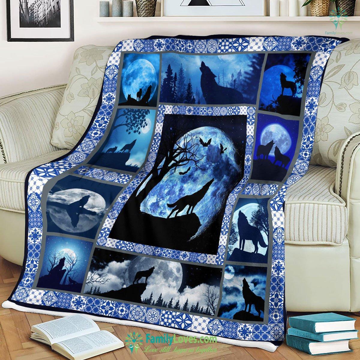 Wolf Blanket 17 Familyloves.com