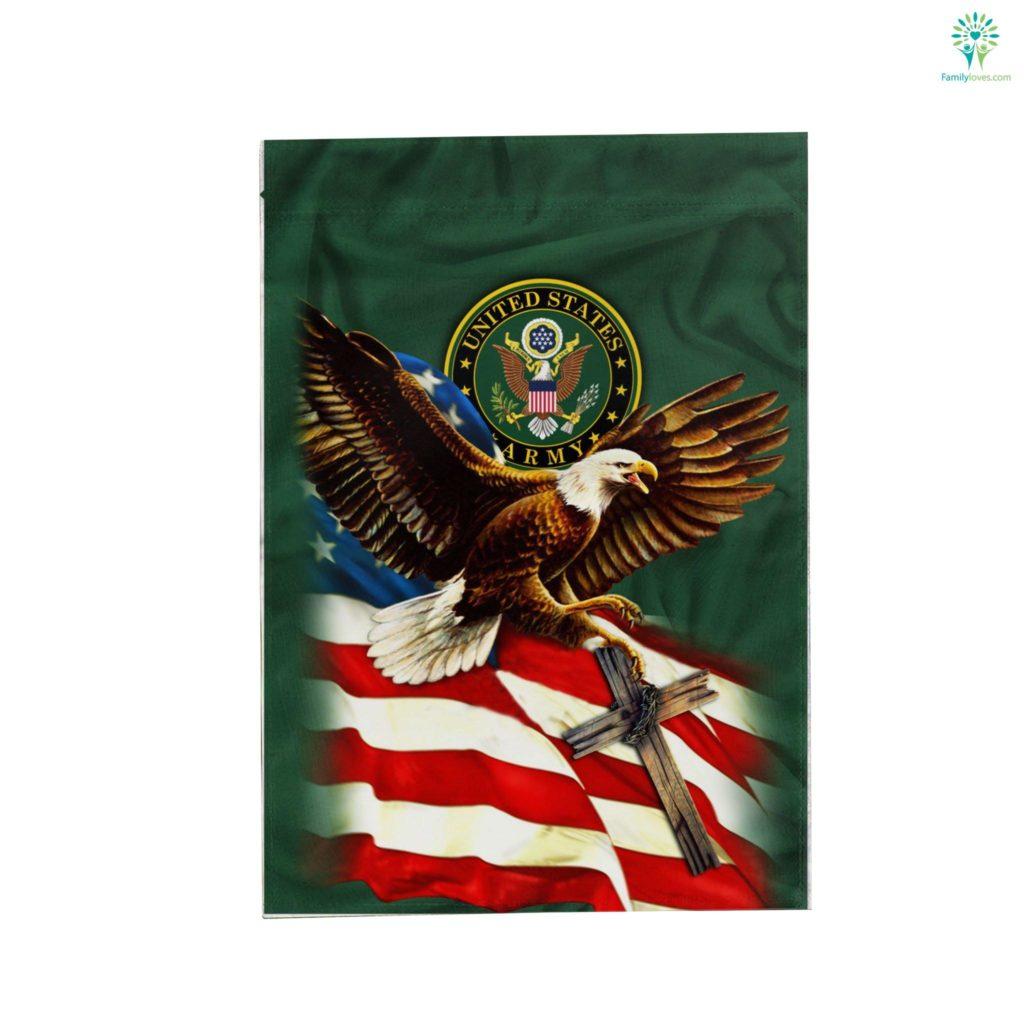 United States Army American Eagle Garden Flag Familyloves.com