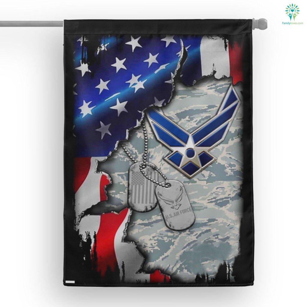 United States Air Force House Flag Familyloves.com