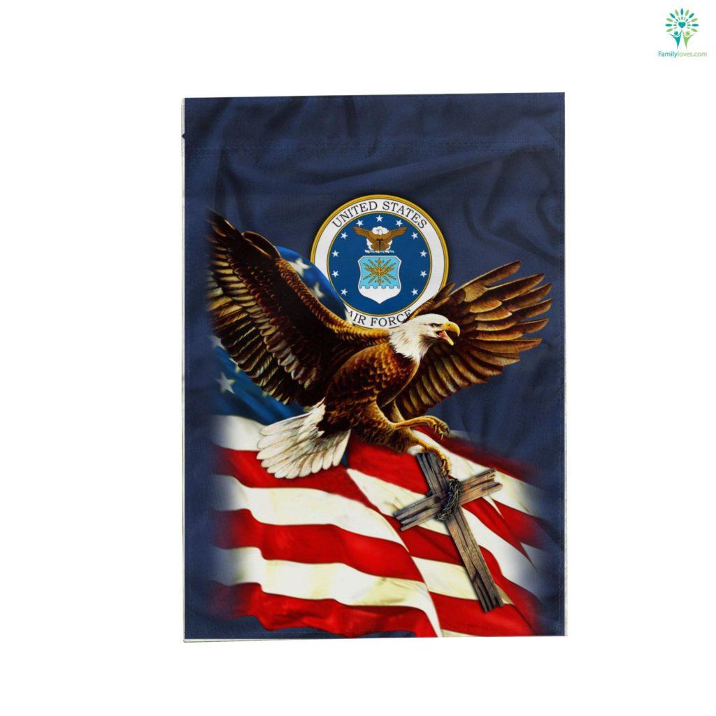 United States Air Force American Eagle Garden Flag Familyloves.com