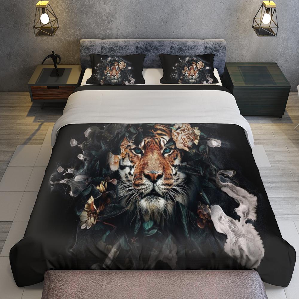 Lion Bedding Set Familyloves.com