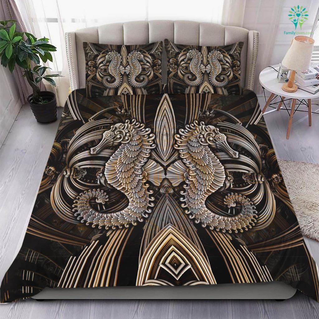 Seahorses Bedding Set Familyloves.com