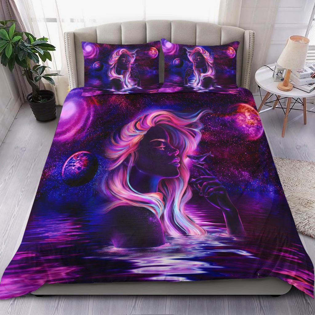 Dolphin Girl Bedding Set Familyloves.com