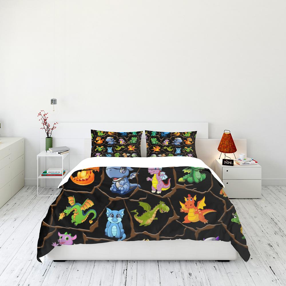 Baby Dragons Bedding Set Familyloves.com