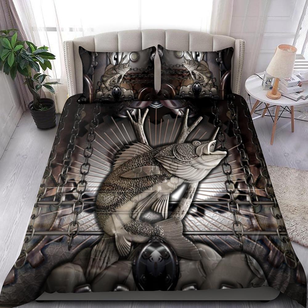 King Of Fish Bedding Set Familyloves.com