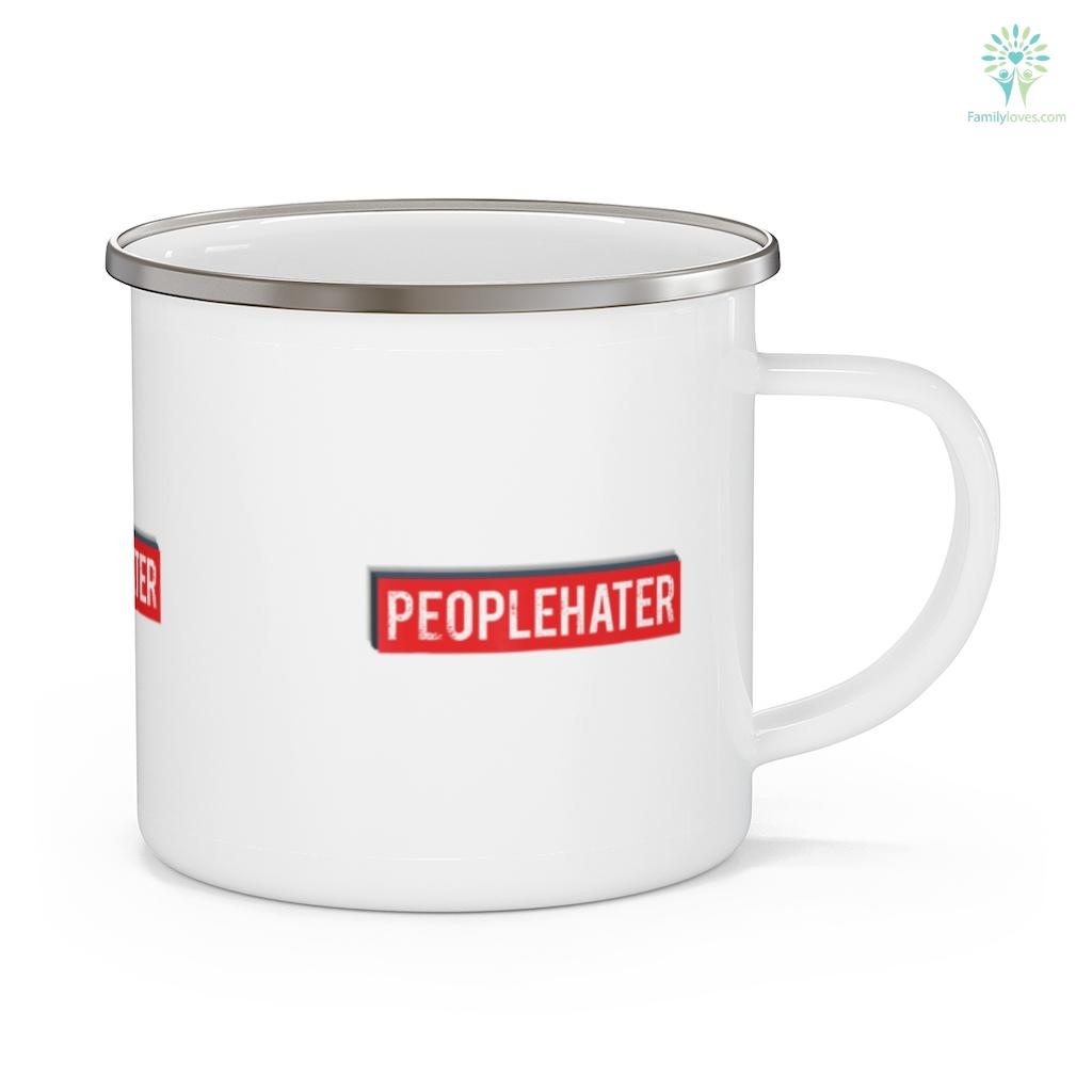 I Hate People for Camping Trips Funny Sarcastic Quote Camping Mug Familyloves.com