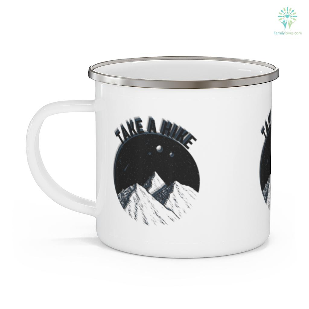 Take A Hike Mountain Hiking Camping Outdoors Gift Camping Mug Familyloves.com