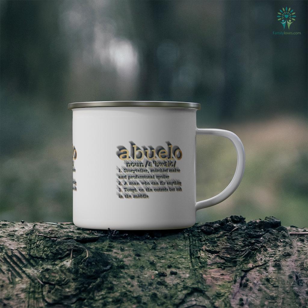 Abuelo Definition - Funny Spanish Father's Day Mug Familyloves.com