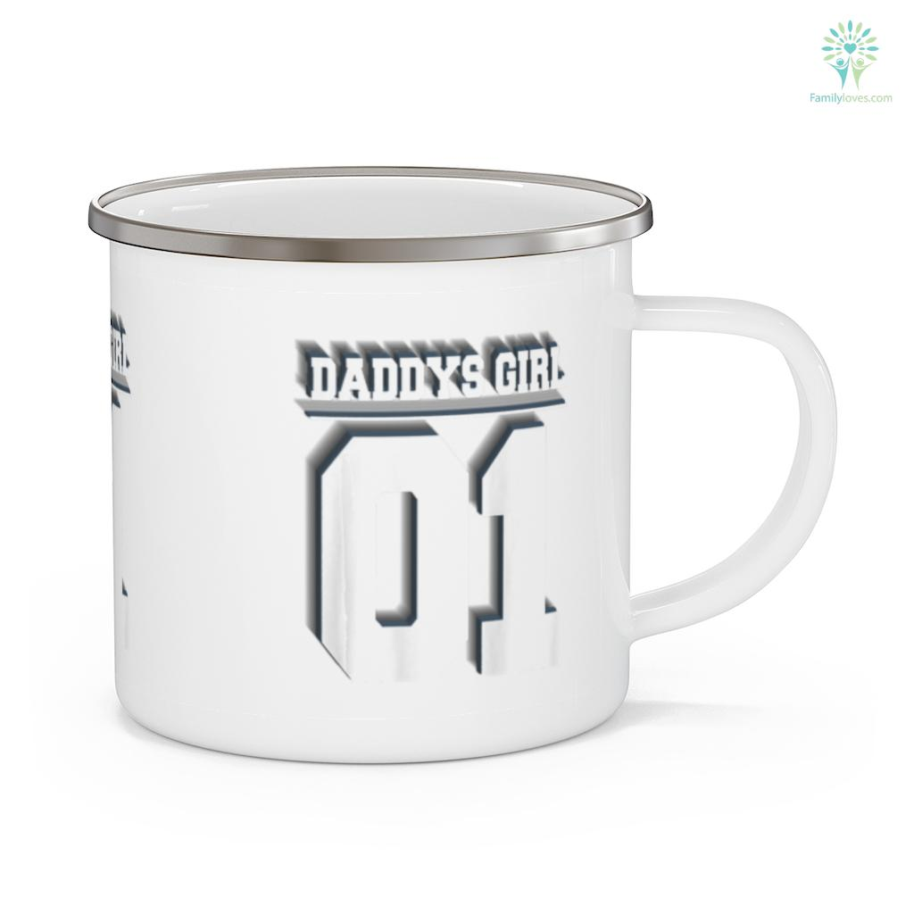 Daddys Girl 01 Idea Daddy Daughter Matching Father's Day Mug Familyloves.com