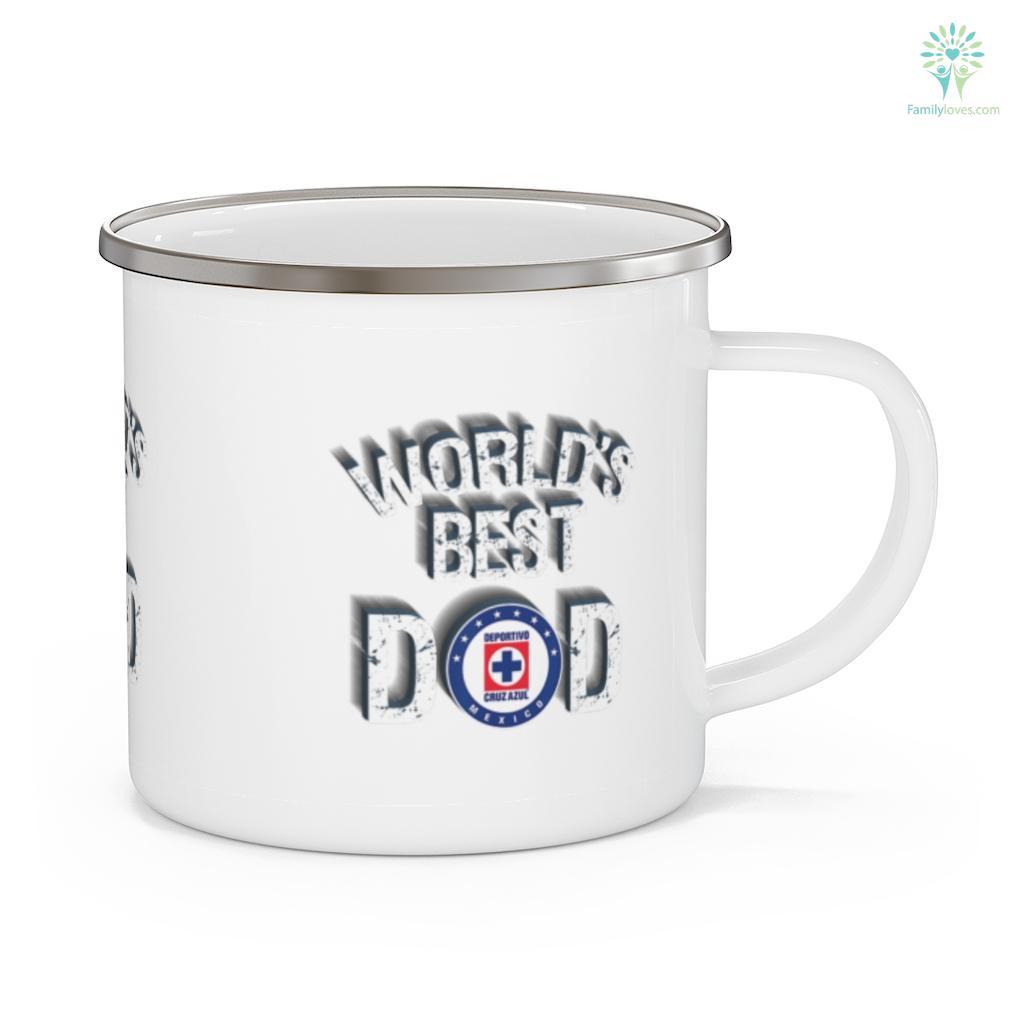 FC Cruz Azul Mexico World's Best Dad Father's Day Mug Familyloves.com