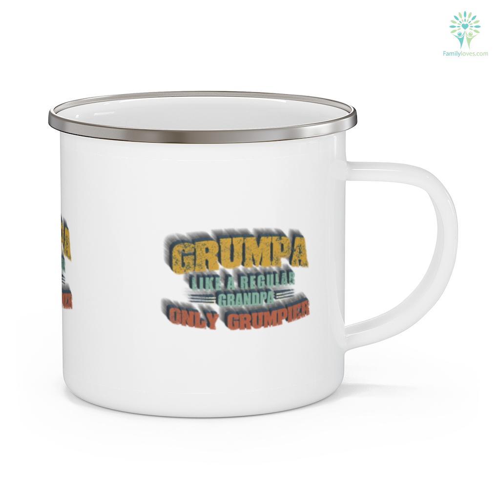 Grumpa Like A Regular Grandpa Only Grumpier Father's Day Mug Familyloves.com