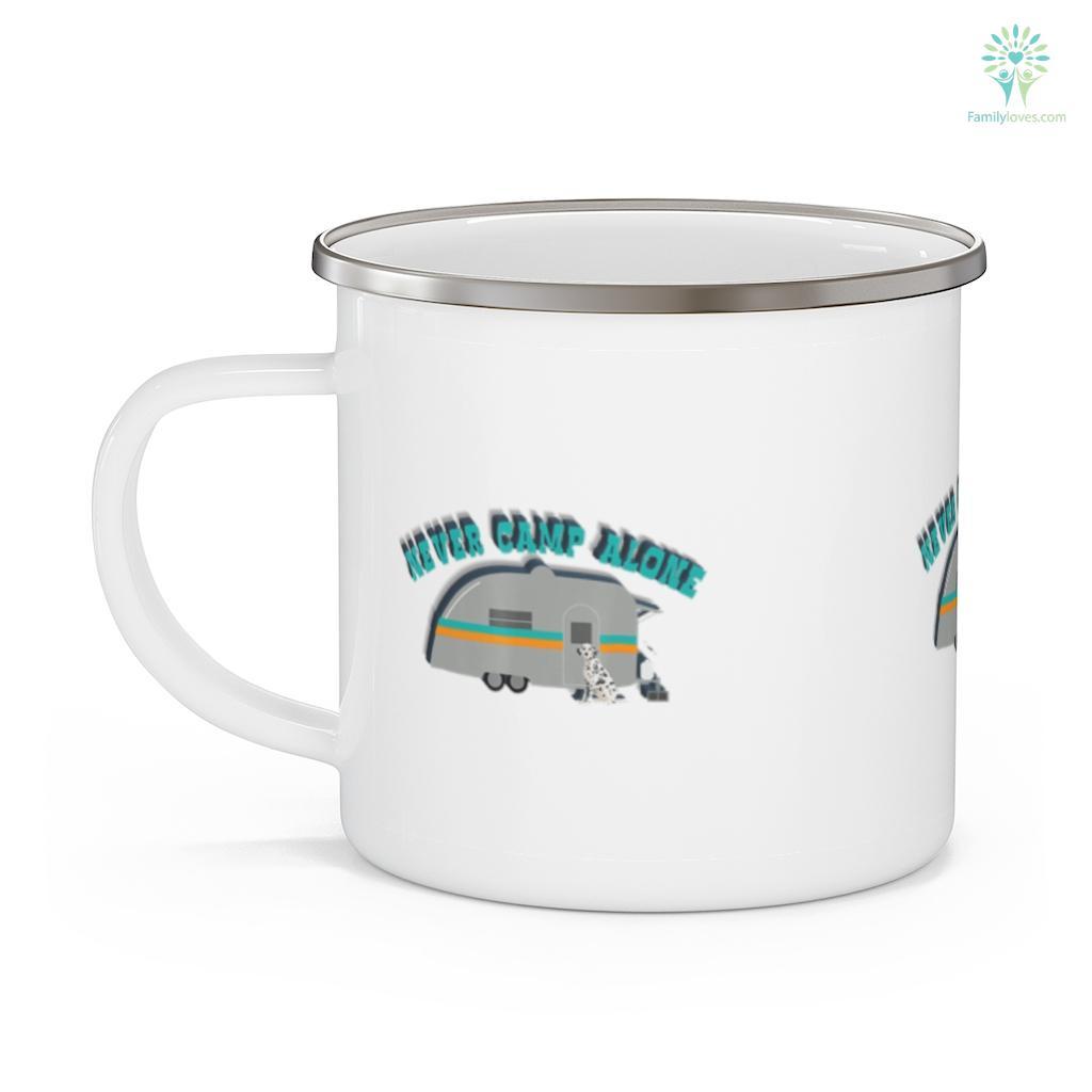 Dalmatian Camping RV Funny Dalmation Dog Camping Mug Familyloves.com