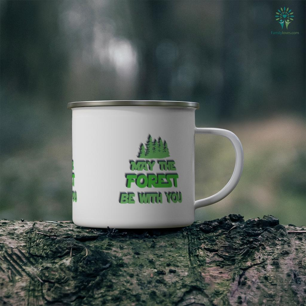 Funny Forest Nature Hiking Fishing Camping Gift Idea Ranger Camping Mug Familyloves.com