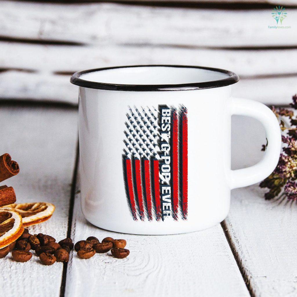 American Flag Best. G-Pop. Ever. Father's Day Mug Familyloves.com