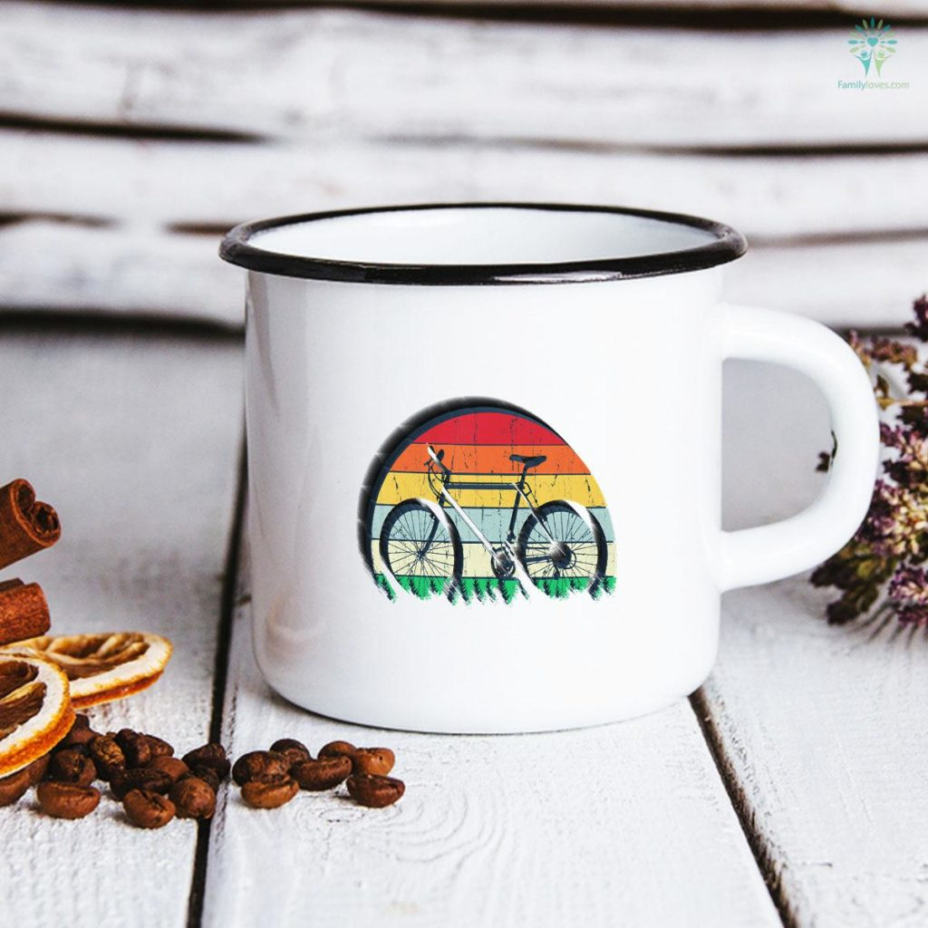 Bicycle Tee Biker Gifts For Boys Men Father's Day Mug Familyloves.com