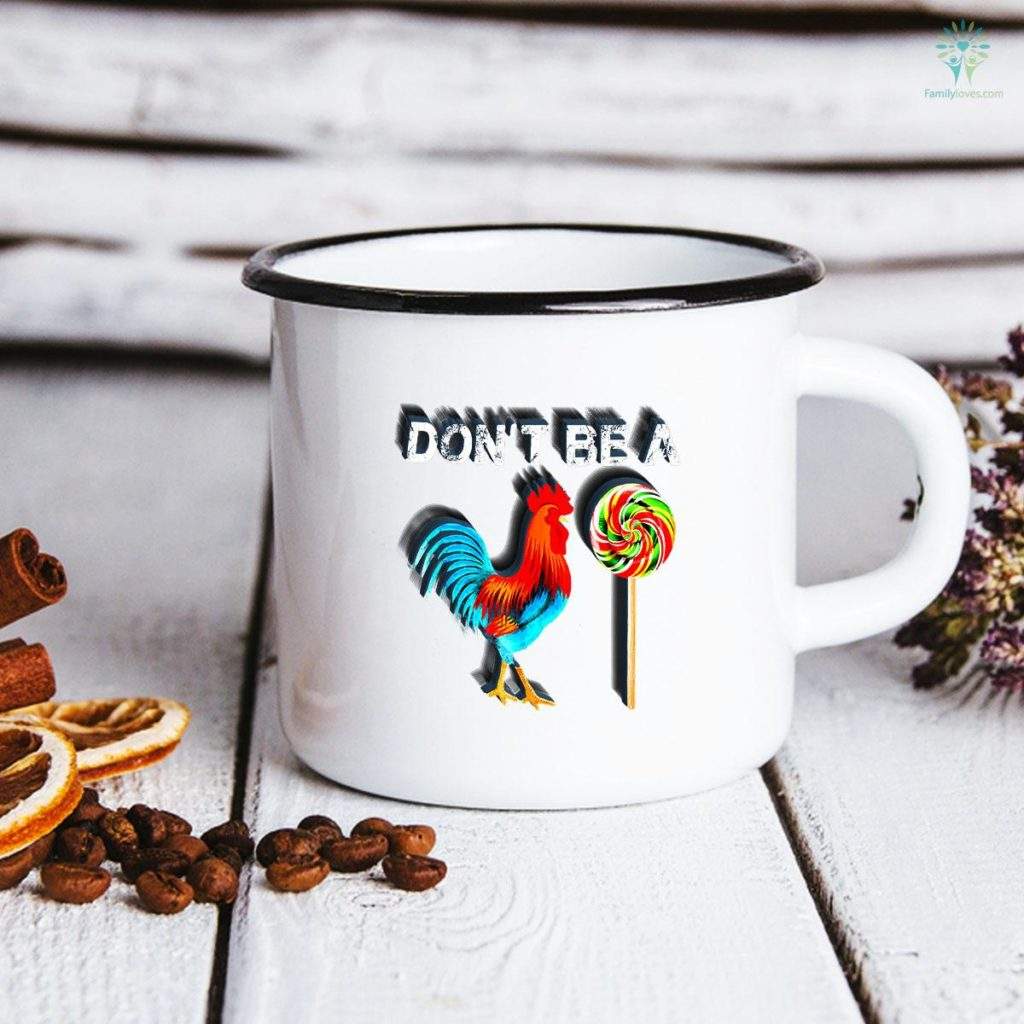 Don't Be A Sucker Funny Cock A Doodle Father's Day Mug Familyloves.com