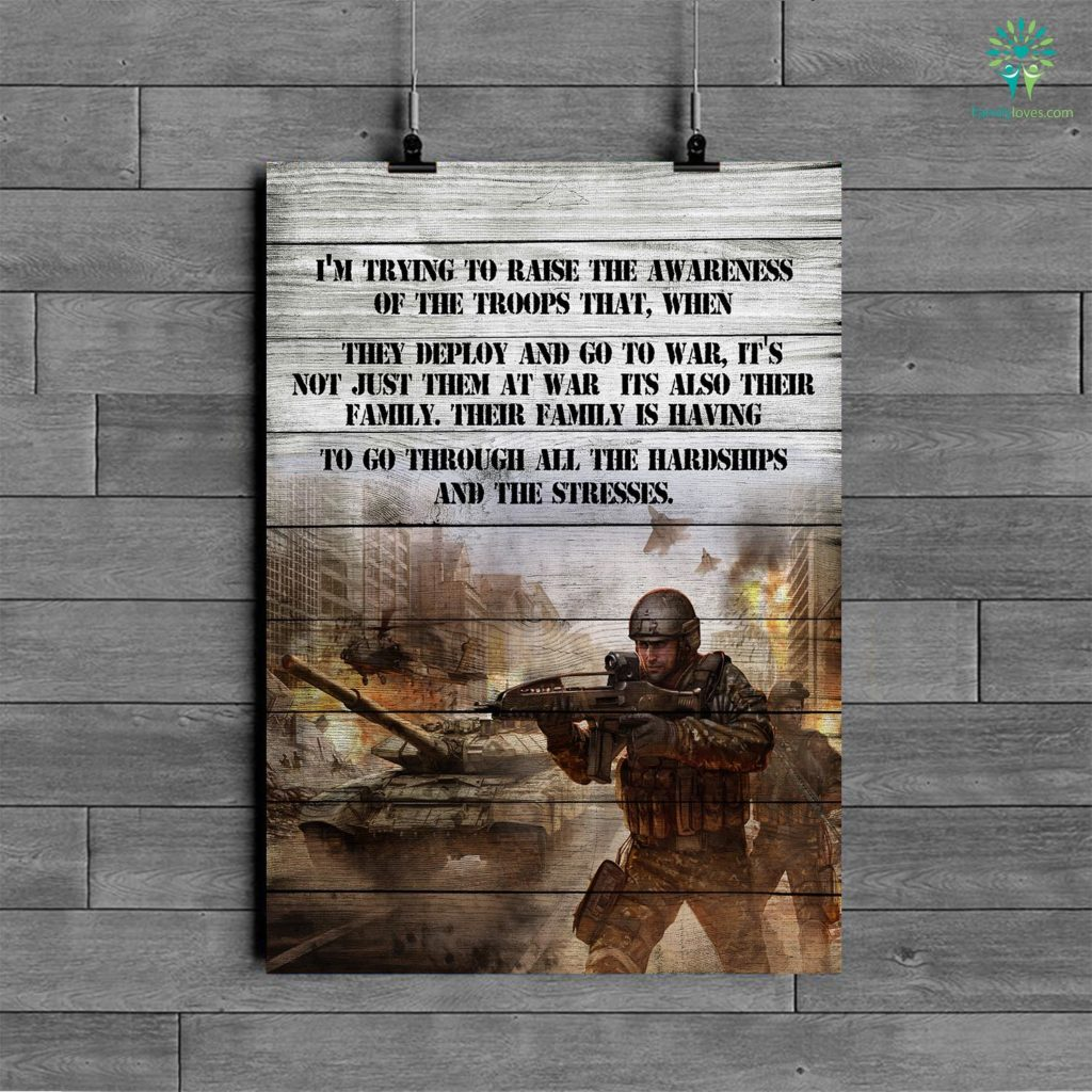 Chris Kyle Quotes Poster I'm Trying To Raise The Awareness Of The Troops That Posters Familyloves.com