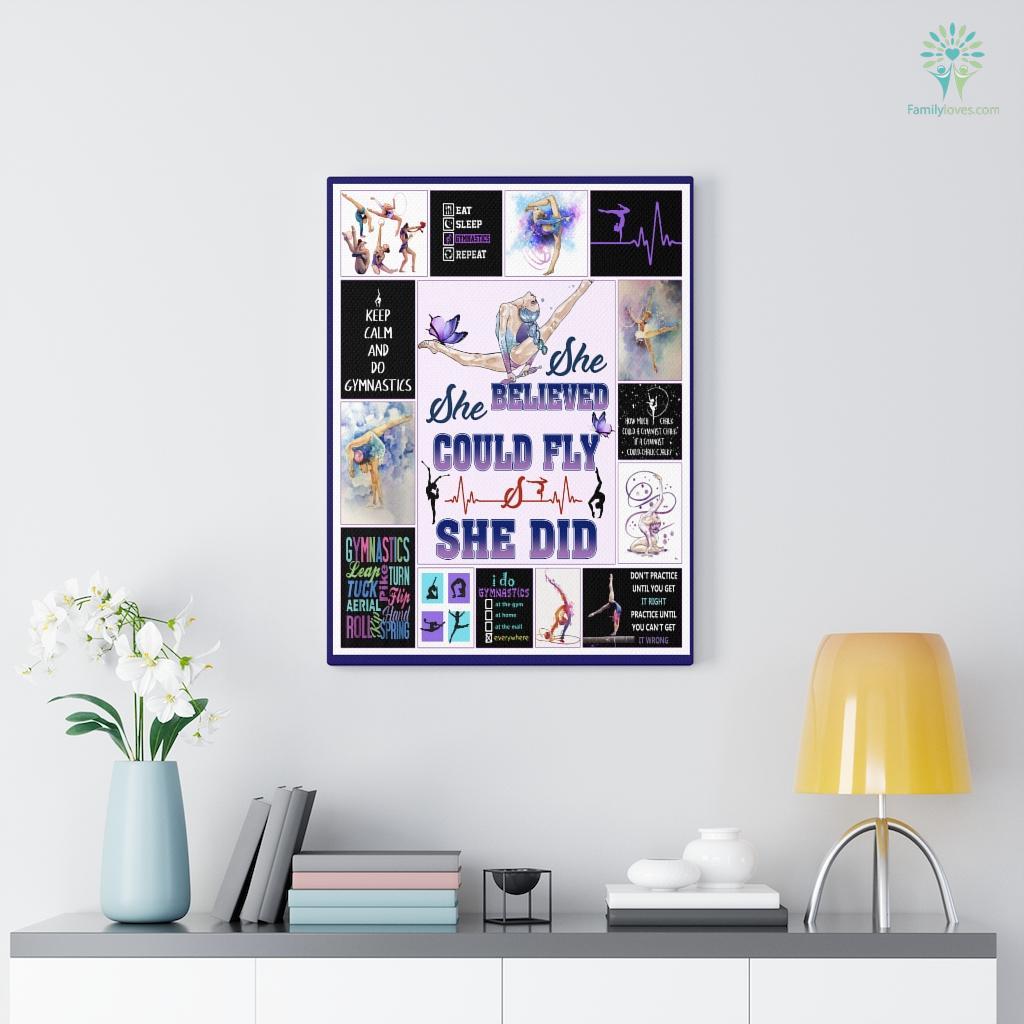 Artistic Gymnastics Canvas Familyloves.com