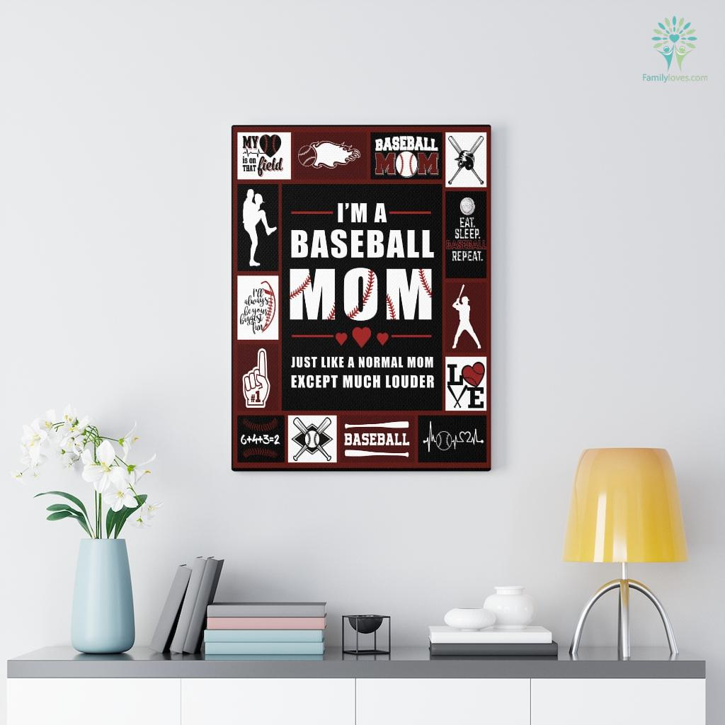 Baseball Canvas Familyloves.com