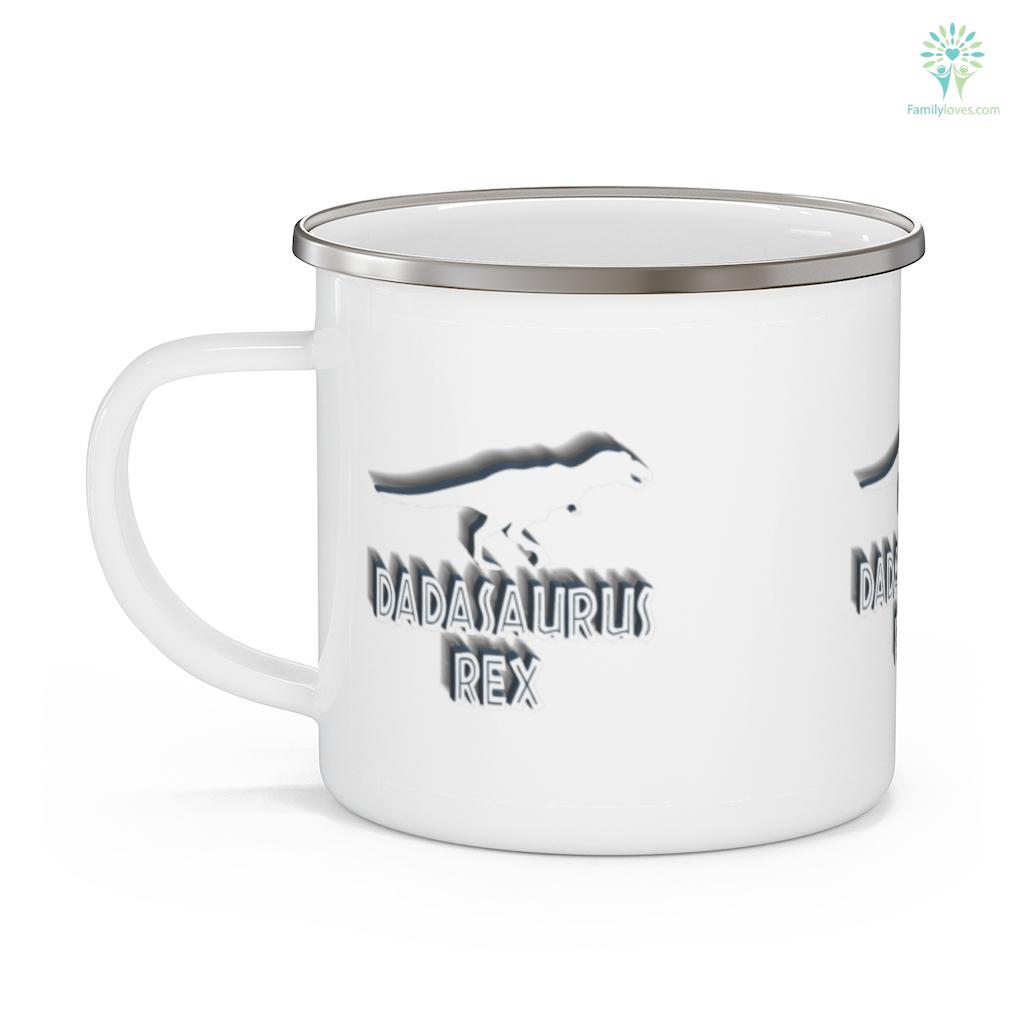 Mens Dadasaurus Rex Father's Day Mug Familyloves.com