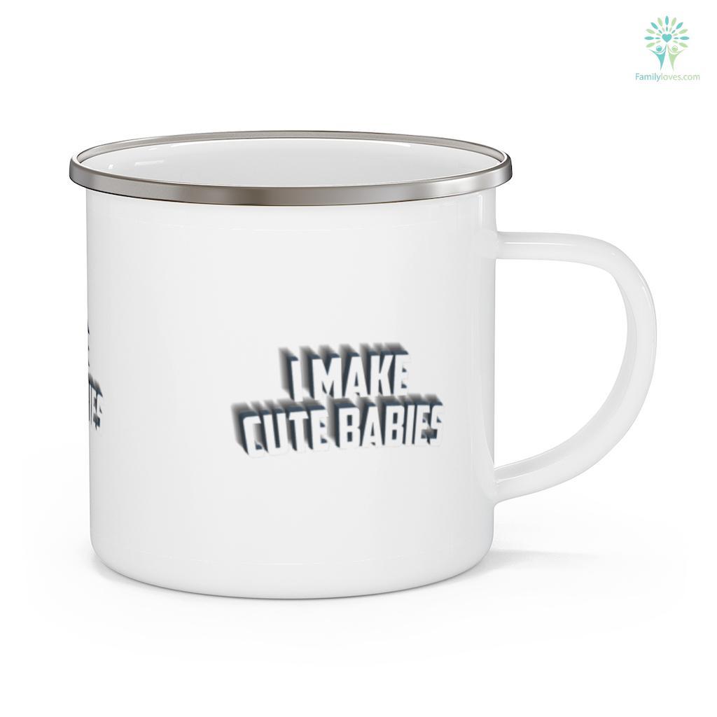 I Make Cute Babies Father's Day Mug Familyloves.com