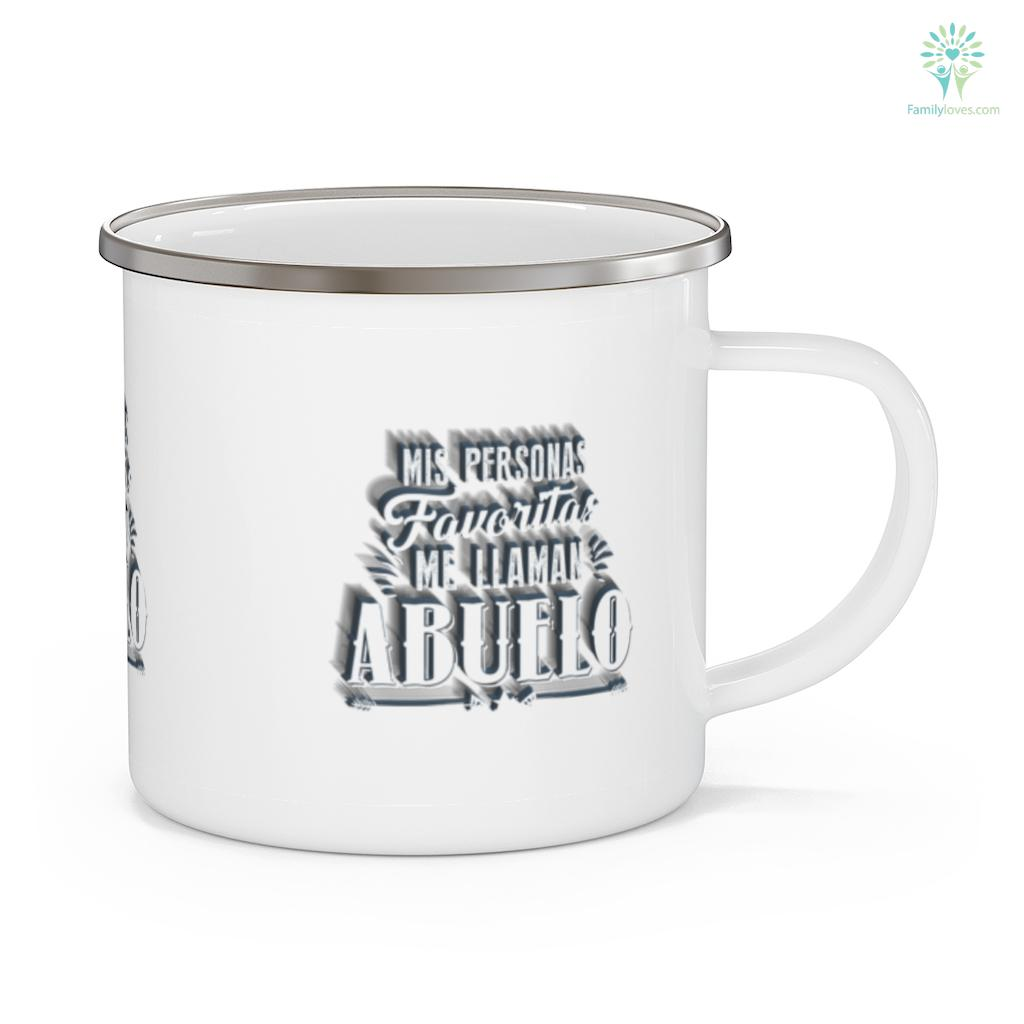 Mis Personas Favoritas Me Llaman Abuelo Spanish Father's Day Mug Familyloves.com