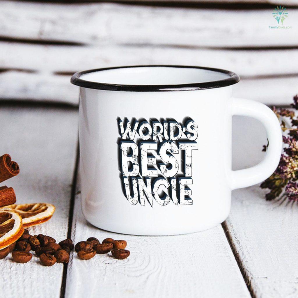 Worlds Best Uncle Husband Father's Day Mug Familyloves.com