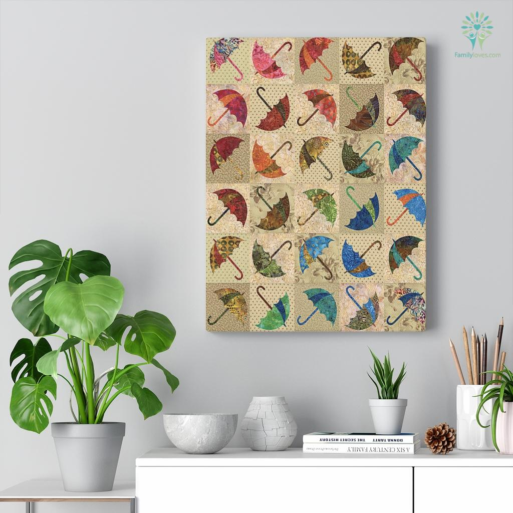 Dacing Umbrella Canvas Familyloves.com