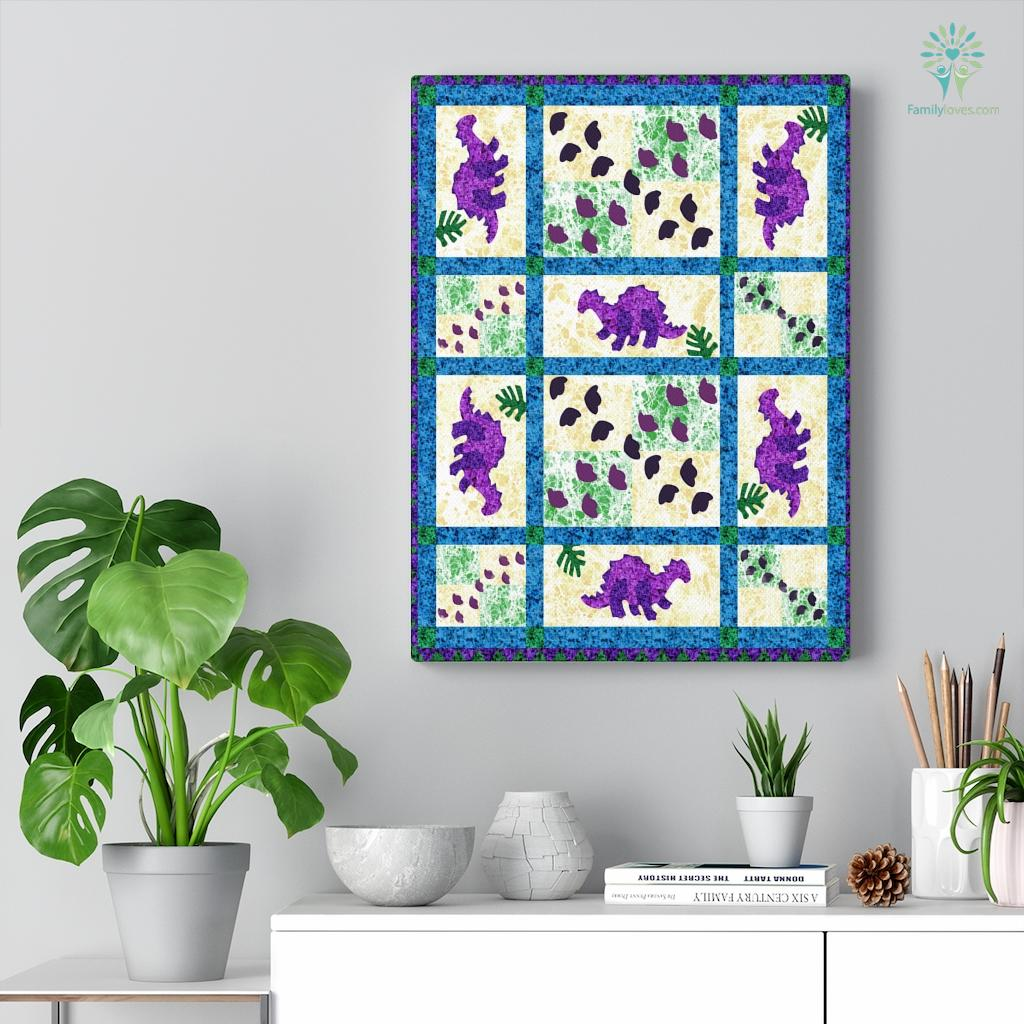 Dinosaur Cl Canvas Familyloves.com