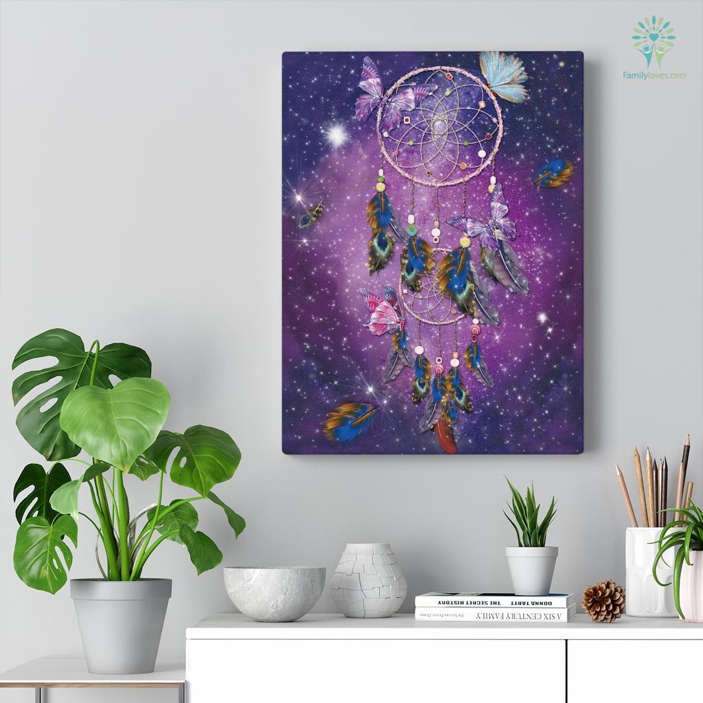 Dreamcatcher Canvas Familyloves.com