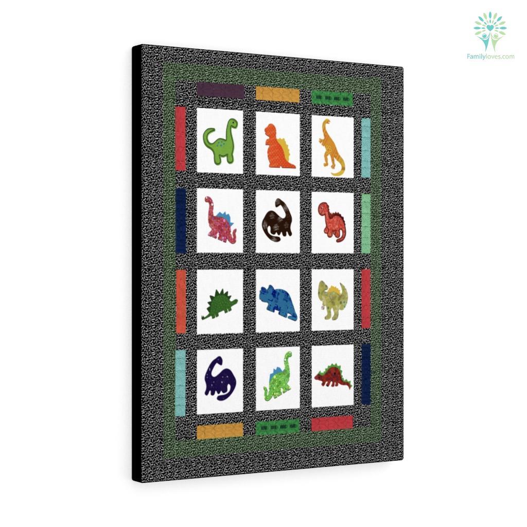 Dinosaur Canvas Familyloves.com