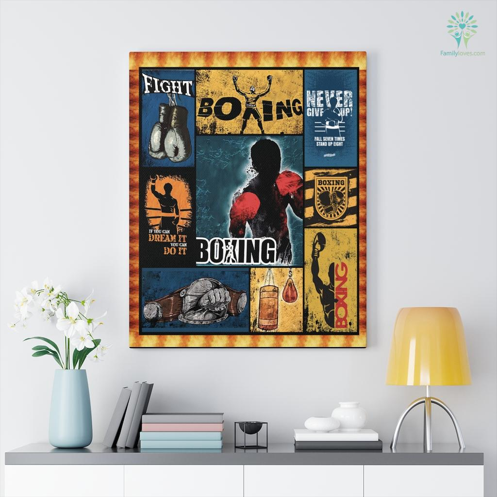 Boxing Canvas Familyloves.com